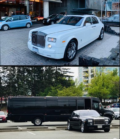 Rolls Royce/ Limo Bus
