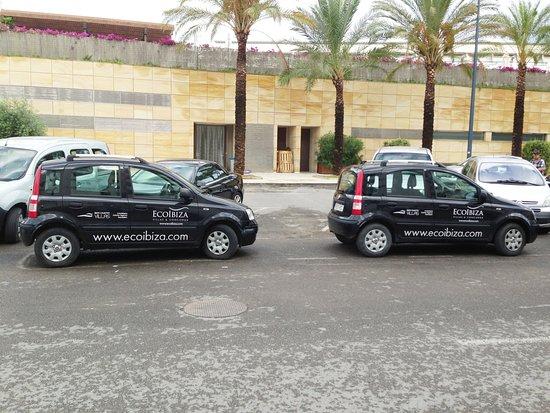 Ibiza, Spanien: company cars