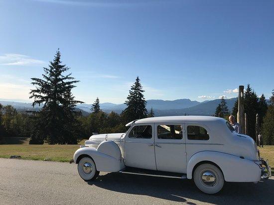 Vintage 1939 Cadillac limousine