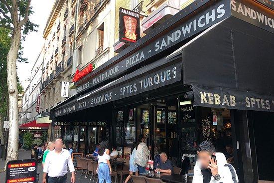 Anamour Kebab: La devanture
