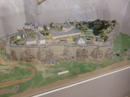 Koenigstein Fortress: Die Festung in Miniatur.