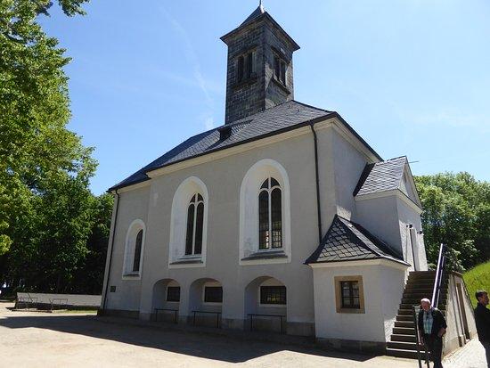 Koenigstein Fortress: Diese Kirche diente früher als Lagerschuppen.
