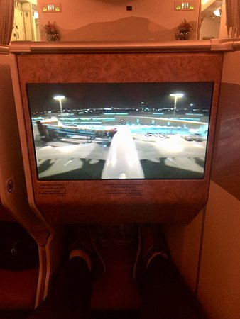 Emirates: Tv screen