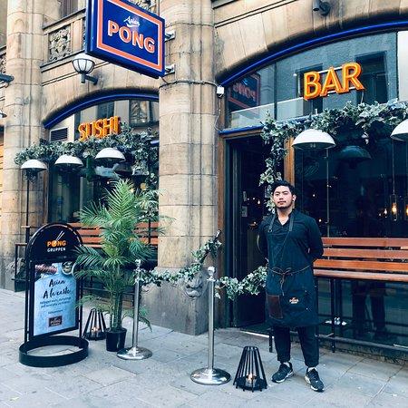 Pong Norrlandsgatan: Come on in, We're Open.