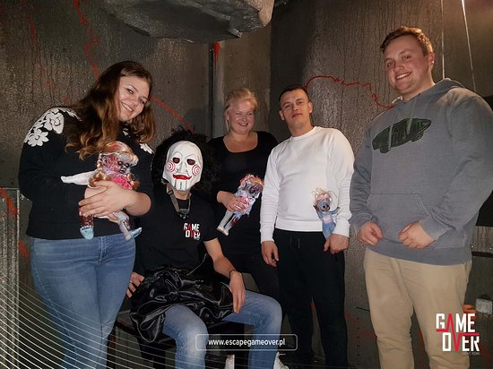 GAME OVER Escape Rooms: R U sure that the nightmare is finished?