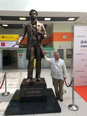 Aleksandr Puskin Statue