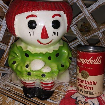 Cleburne, TX: Cute McCoy Raggedy Ann cookie jar