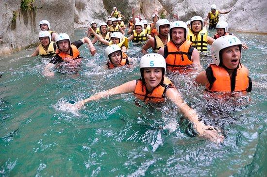 Göynük, Türkiye: Body Rafting