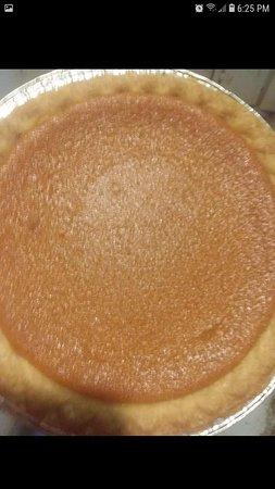 Smoked Sweet Potato pie