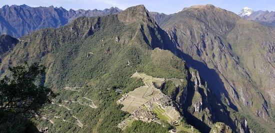 Machu Picchu view from Waynapicchu Mountain