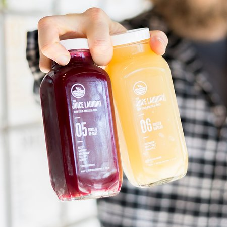100% ORGANIC, COLD-PRESSED JUICES