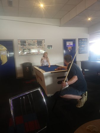 Stanwix Park Holiday Centre: The junior pool table