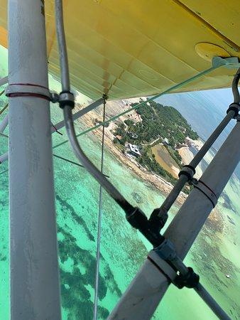 Bi plane ride