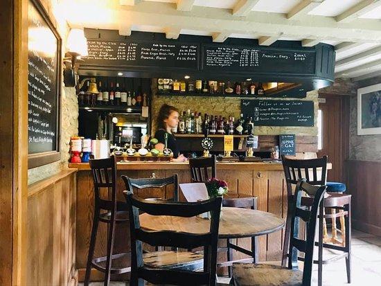 The Plough Inn: The bar