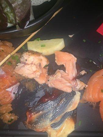 brochette de saumon dites CUITE