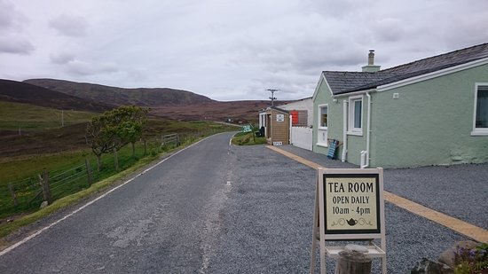 Aith, UK: The tea room from the roadside.