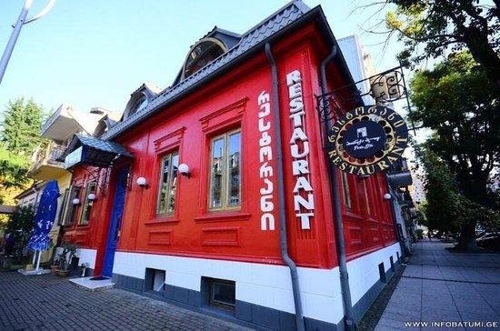 Porta Blu is a restaurant in old batumi