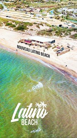 Latino Beach: Vue du ciel ;)