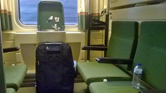 Camarote del Tren Nocturno de Madrid a Lisboa