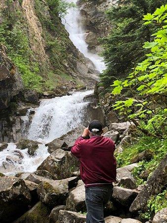 Photograph Alaska with a Pro - Skagway: Reid Falls outside Skagway.