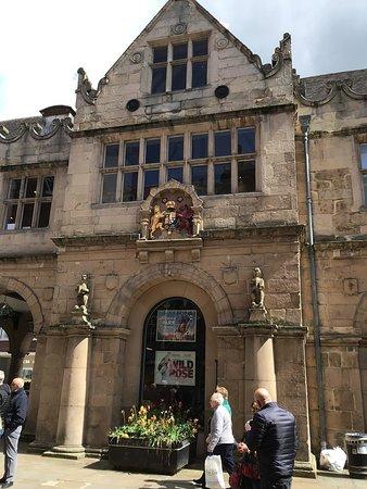Old Market Hall in Shrewsbury