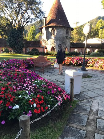 Jardim muito bem preservado