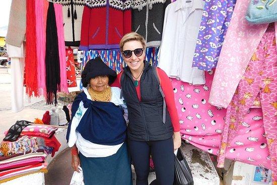 Full dagstur til Otavalo med venner...