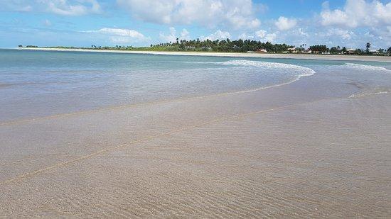 Paripueira Beach: Praia de Paripueiras.