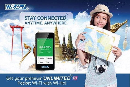 Pocket Wi-Fi Thailand - Premium 4G...