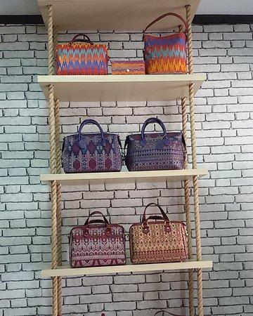 Traditional Songket Handmade Bag