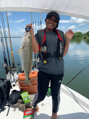 Bones Fishing Guide Service  Redfish, Stripe Bass and Catfish fishing trips available for Calaveras Lake and Braunig Lake - $260.    Contact