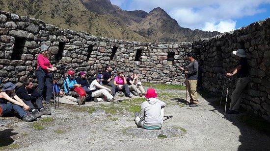 Machu Picchu, Peru: History time along the inca trail.