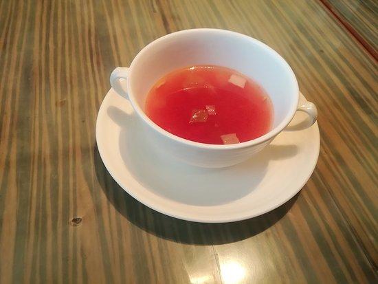 日替わりランチのスープ