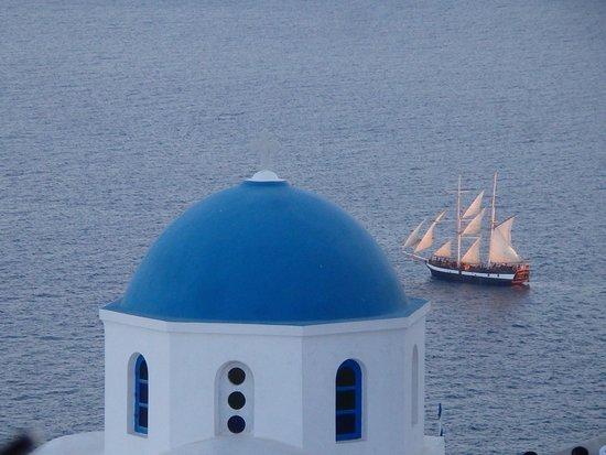 Santorini Summer Panorama: Oia