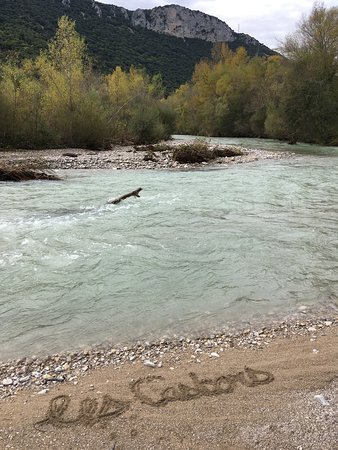Camping les Castors: Rivière l'ouvèze