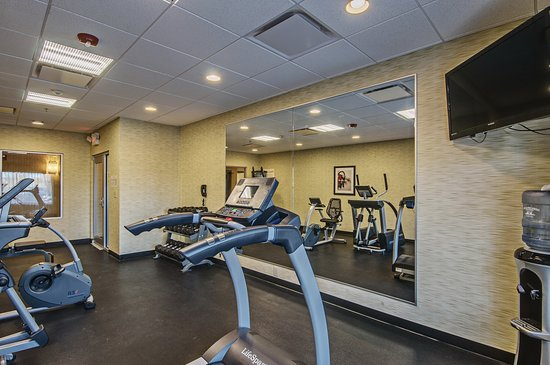 Holiday Inn Express and Suites Wytheville: Health club