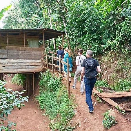 Hiking tour on Mt. Meru