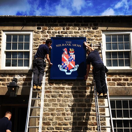 Barningham, UK: The historic Milbank Arms pub re-opens after restoration project.