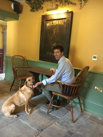 Barningham, UK: We welcome dogs at The Milbank Arms