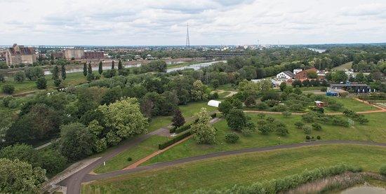 Jahrtausendturm (MIllennium Tower) - view of Magdeburg