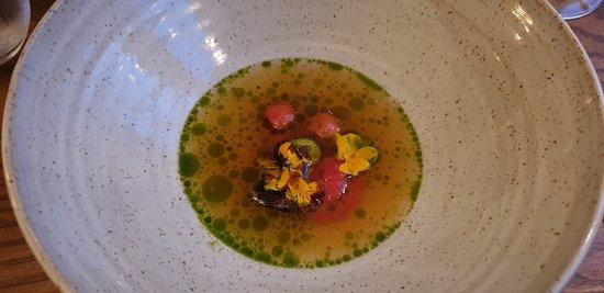 Tomato Carpaccio Soup