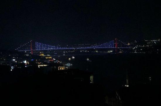 Chef Mezze istanbul boğazı manzarası