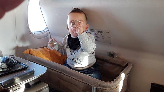 Turkish Airlines: Ну, что бы мягко сесть!