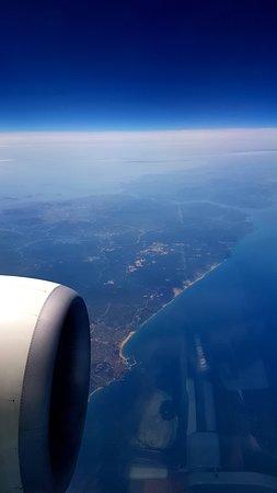 Turkish Airlines: А воооон он, Босфор, синей ниточкой...