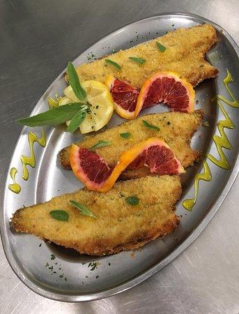 Gastronomia Da Marcello: Branzini in crosta d'arancio