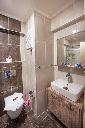 Çok Önem Verdiğimiz Lavabolar ve Banyolarmız. A plus Malzemeler