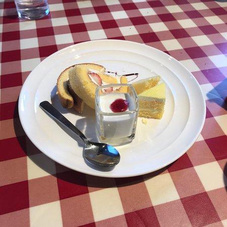 Pasta Napoletana Matsudo Mutsumi: ランチのデザート