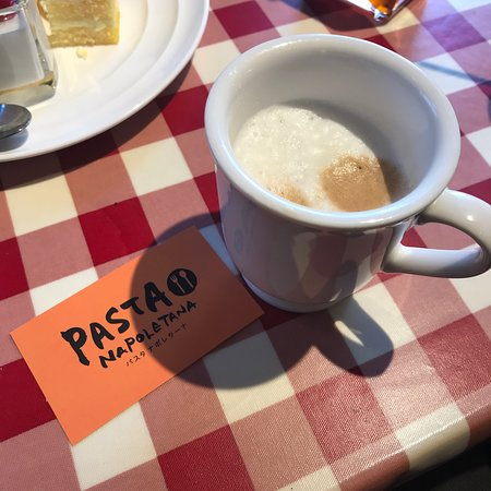 Pasta Napoletana Matsudo Mutsumi: 食後はコーヒー