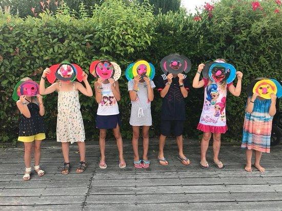 Puybrun, Francia: club enfant