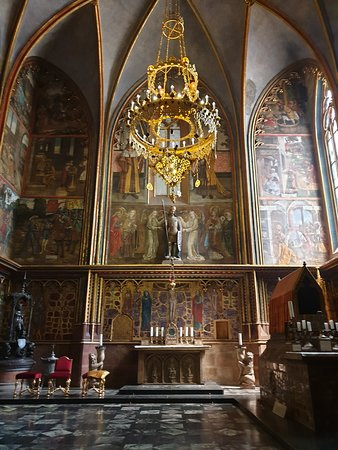 Saint Wenceslas Chapel inside St Vitus Cathedral